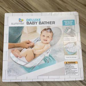 Baby bather deluxe NWB